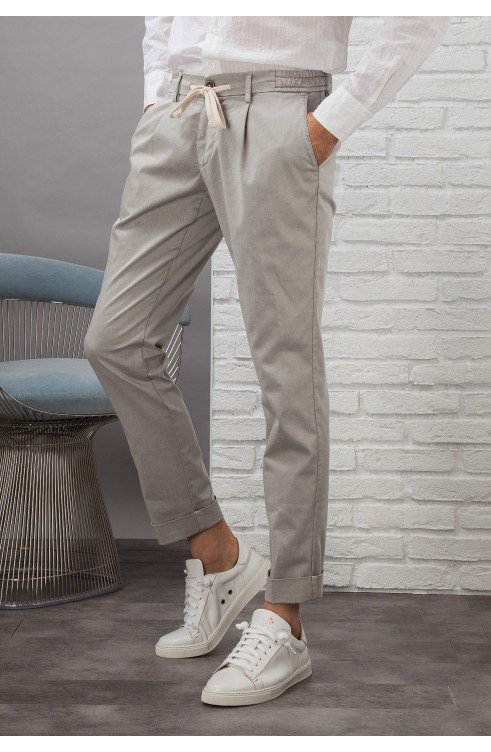 Man Pants in Cotton...