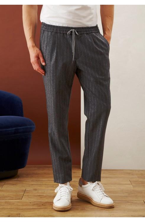 Man Pants in Virgin Wool...