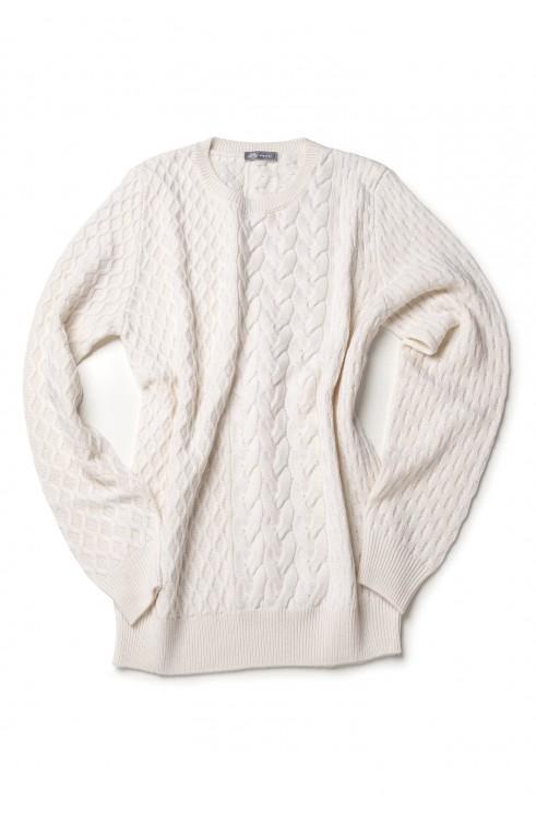 Man Sweater in Wool...
