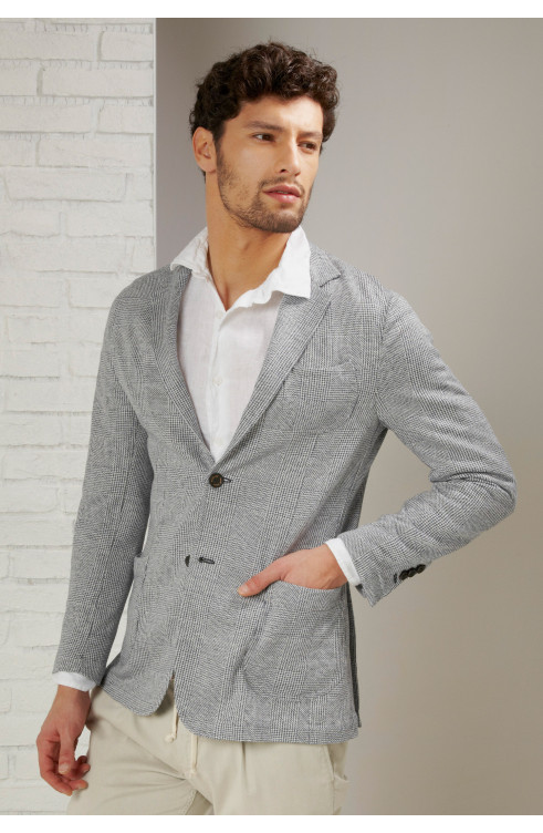 Man Jacket in Linen S.POST...