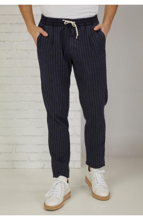 Man Pants in Linen...
