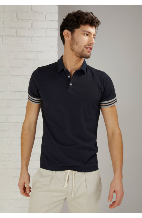 Man Polo in Cotton p51...