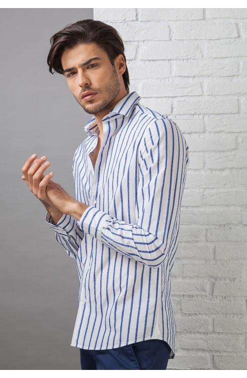 Camicia Uomo in Cotone...