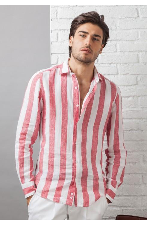 Man Shirt in Linen C650_CW...