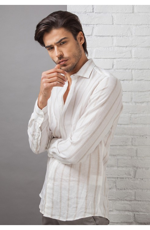 Man Shirt in Linen C650_CW...