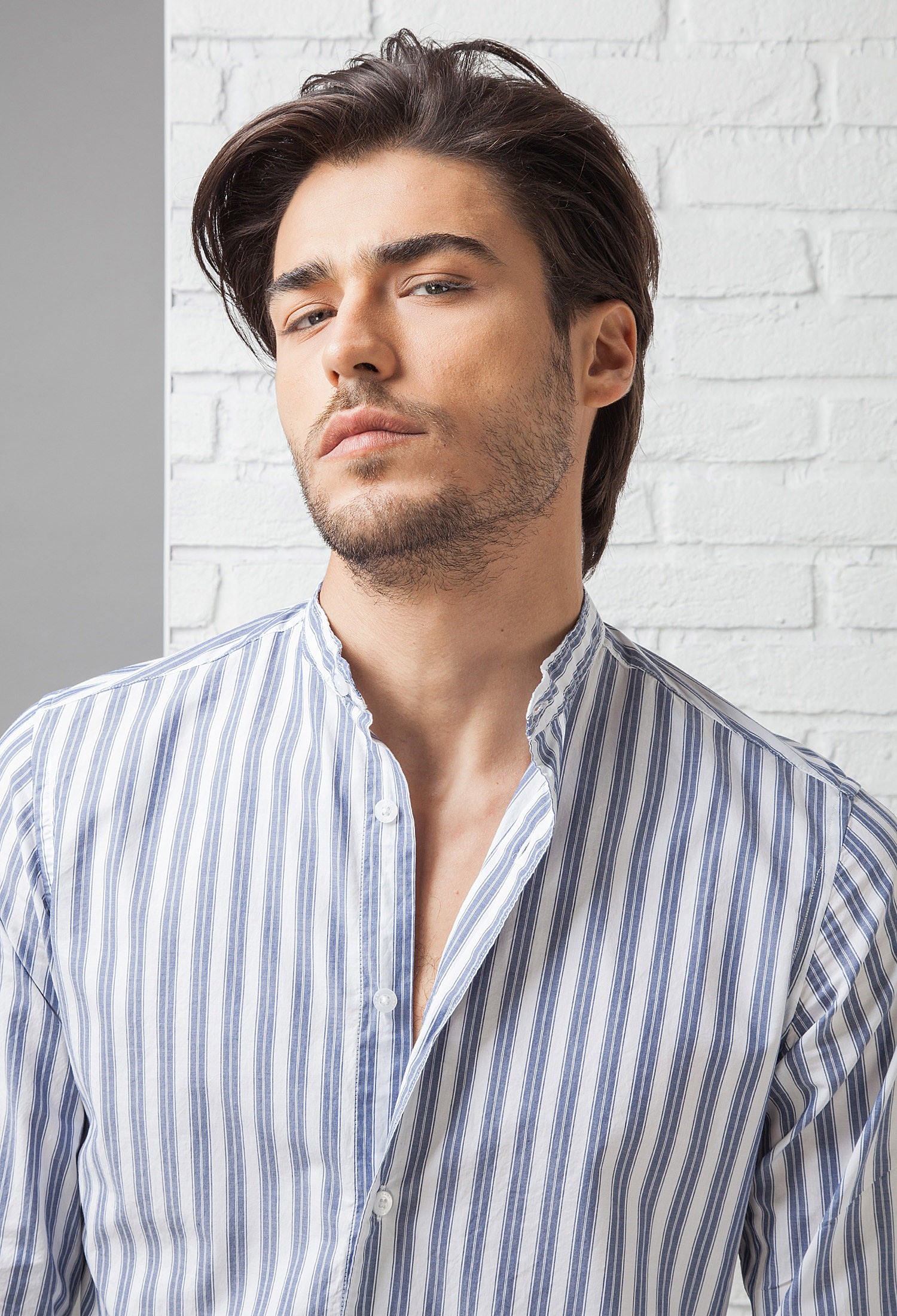 immagini ufficiali sconto più votato vendita online Camicia uomo in Cotone C657_CW Fradi - 55 - BIANCO/BLUE