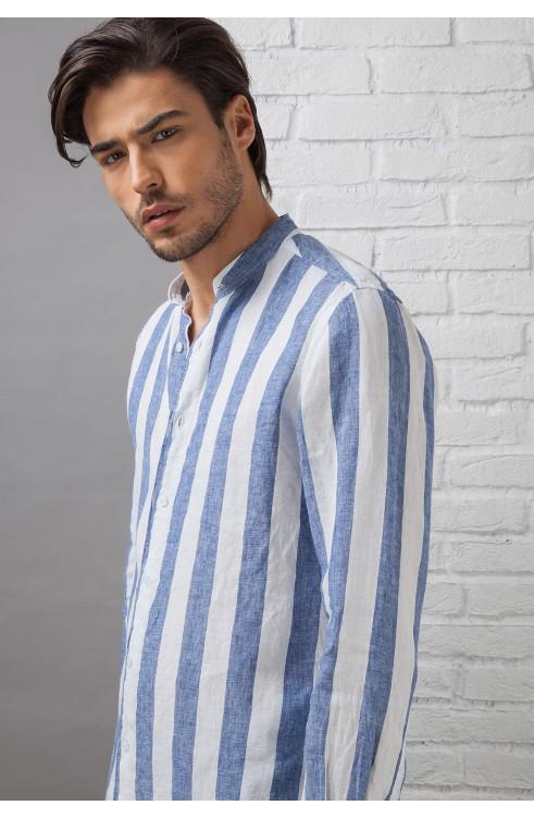 Man Shirt in Linen C657_CW...