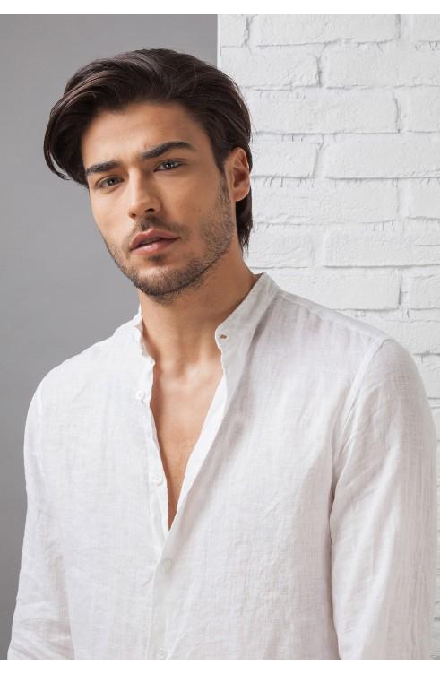 Man Shirt in Linen C657_D...