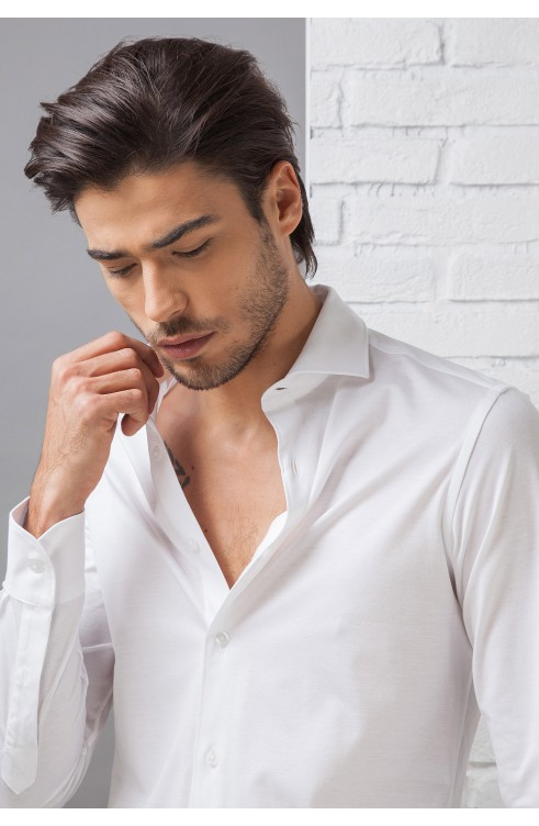 Man Shirt in Cotton CJ750...