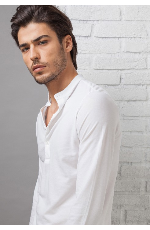 Man Polo Shirt in Cotton...